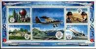 LESOTHO 1983 MNH Block Aviation B18 - Airplanes