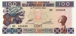* GUINEA - 100 FRANCS 1998 UNC - P 35 - Guinée