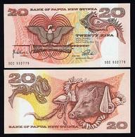 PAPUA NEW GUINEA 10 KINA P 26 POLYMER UNC - Guinée