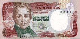 COLOMBIA 500 Pesos 1993 UNC P 431 - Colombia
