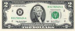 Stati UNITI USA 2 DOLLARI 2003 SERIE B (New York) $ UNC - New York