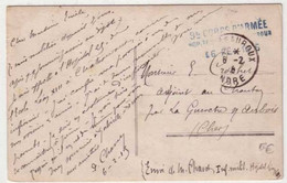 GUERRE 14/18 - HOPITAL TEMPORAIRE N°XIII  - CHATEAUROUX  (INDRE) - 1915 - 1. Weltkrieg 1914-1918