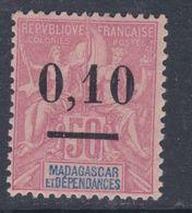 Madagascar N° 53 X  Type I , 0.10 Sur 50 C. , Trace De Charnière  Sinon   TB - Madagascar (1889-1960)