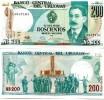 URUGUAY 200 Nuevos Pesos 1986 P-66 UNC - Uruguay