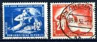 Mi. 273 / 274 Mansfelder Kupferbergbau  O - Oblitérés