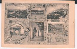 Artena- Valmontone-ricordo -vedutine.viaggiata-1916. Bella-di 102 Anni .rara - Altre Città