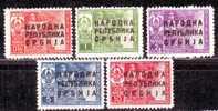 1948 Yugoslavia Juidicial Stamp MNH** - Nuovi