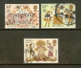 UK 1981 Used Stamp(s) Folklore (867=870 3 Values Only) Thus Not Complete - Used Stamps