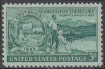!a! USA Sc# 1019 MNH SINGLE - Washington Territory - Etats-Unis