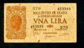 """UNA  Lira """" ITALIE """"   23 Novembre 1944   SUP       Bc86 - [ 1] …-1946 : Royaume"""