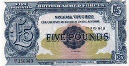 * GREAT BRITAIN - 5 POUNDS 1948 (B.A.F.) UNC - P M23 - 1952-… : Elizabeth II