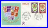 1430-1431 (Yvert) Sur Enveloppe Premier Jour (PJ) Paris - Europa 1964 - France 1964 - FDC