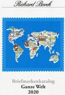 Ganze Welt A-Z Briefmarken Borek Katalog 2010 Antiquarisch 30€ Mit MICHEL # B F UK DK E S GR SF A D L NL P PL I AU AL BG - Belgique