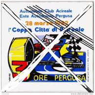 Adesivo Sticker Autocollant ACIREALE-3 ORE AUTODROMO PERGUSA-1982- - Stickers