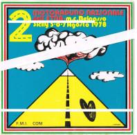 Adesivo Sticker Autocollant -MOTORADUNO BELPASSO ETNA AGOSTO 1978- - Stickers