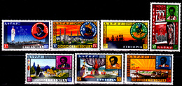 Ethiopie 398 / 04 Anniversaire Du Couronnement Du Roi - Etiopía