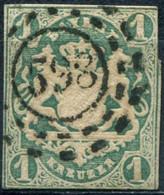 Pays :  20,01 (Allemagne : Bavière)  Yvert Et Tellier N° :  15 A (o) - Beieren