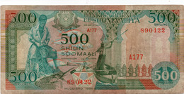SOMALIA 500 SHILIN 1996 P 36  F Cond - Somalia