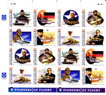 Micronésie 436 / 43 Pionniers De L'aviation ( 2 Séries ) - Micronésie