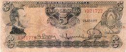 Honduras Banknote 5 Lempiras 1977 - Honduras