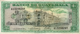 Guatemala Banknote 1 Quetzal 1968 Circ - Guatemala