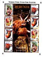 Burundi 1078 / 81 Protection De La Faune / Sitatonga / WWF - 2000-09: Neufs
