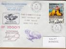 """TAAF PLI KERGUELEN TP 282 Obl. 3-4-2000. """"Etude Diagnostique 03/00.."""". Marion Dufresne. Voir Photo. - Terres Australes Et Antarctiques Françaises (TAAF)"""