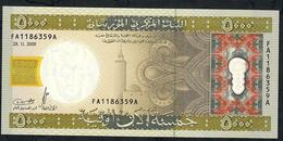 MAURITANIA P15 5000 OUGUIYA 2009 Issued 2010 - Mauritania