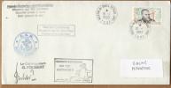 TAAF PLI ST PAUL ET AMSTERDAM TP 216 Obl. 10 - 1 1999 Cachets M.D. 113 ANTARES 4 Signé. Voir Verso. - Terres Australes Et Antarctiques Françaises (TAAF)