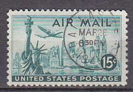 J0382 - ETATS UNIS USA AERIENNE Yv N°37 - Air Mail