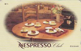 Télécarte Japon / 110-011 - Boisson Café Nescafé NESTLE Nespresso Chocolat  - Japan Phonecard Telefonkarte - 61 - Reclame