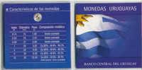 ® URUGUAY: Set De Monedas Circulantes - Monedas & Billetes