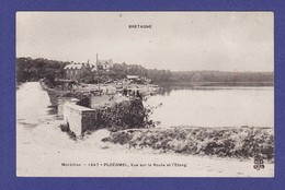 PLOERMEL  Route De L Etang Animation  1907  (TTB état)  AC1010 - Ploërmel