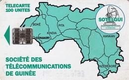 *GUINEA* - Scheda Usata - Guinée
