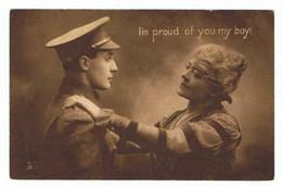 TUCK'S POST CARD    No 4558  ( My Brave Boy  ) - Tuck, Raphael