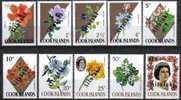 Aitutaki 1972 Yvertn° 32-41 *** MNH Cote 55 Euro Fleurs Bloemen Flowers - Aitutaki