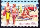 2010. AUSTRALIAN DECIMAL. Long Weekend. 60c. Surfing. FU. - 2000-09 Elizabeth II