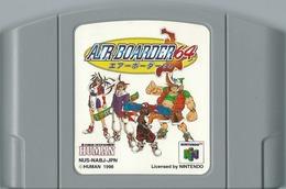 JEU NINTENDO 64 AIR BOARDER 64 IMPORT JAPON SANS BOITE NI NOTICE - Nintendo 64