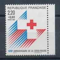 2555a** Croix Rouge (Provenant De Carnet) - Ungebraucht