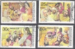 Bophuthatswana 1985 Michel 140 - 143 O Cote (2002) 2.70 Euro Pâques Cachet Rond - Bophuthatswana