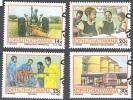 Bophuthatswana 1986 Michel 173 - 176 O Cote (2002) 1.70 Euro Projet De Développement Cachet Rond - Bophuthatswana