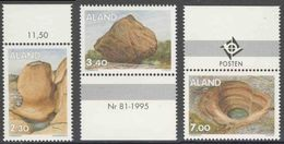 Aland 1995 Mi 92 /4 **  Rock Formations / Gesteinsformationen / Formaciones Rocosas - Other