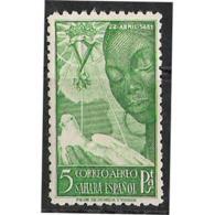 SHR87-3079TV.Maroc.Marocco..VARIEDAD B/H.SAHARA    ESPAÑOL ISABEL LA CATOLICA 1951 (Ed 87**) Sin  Charnela.LUJO - Variedades & Curiosidades