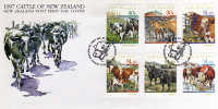 FDC. Bovins Reproducteurs De Nouvelle-Zelande. 1505/10. PRIX REDUIT! - Agriculture