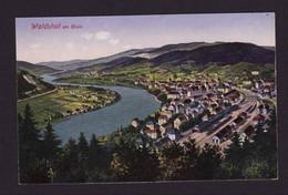 BD525)   WALDSHUT UND Banhoff  Zug 1922  (Trés Trés Bon  Etat) - Waldshut-Tiengen