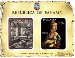Panama ( Michel ) Bf 78 Tableaux Animaliers - Panama