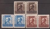 MABE1-L4092TCSC.Maroc.Marocco.MARRUECOS. ESPAÑOL.BENEFICENCIA. General Franco.1937/9.(Ed  1/3 **) Par.sin Charnela.LUJO - Sin Clasificación