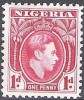 Nigeria 1938 Michel 48 Neuf * Cote (2002) 0.20 Euro Roi George VI - Nigeria (...-1960)