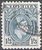 Nigeria 1938 Michel 59A O Cote (2002) 0.40 Euro Roi George V Cachet Rond - Nigeria (...-1960)