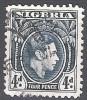 Nigeria 1938 Michel 56 O Cote (2002) 2.50 Euro Roi George V Cachet Rond - Nigeria (...-1960)